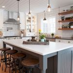 77 Best Farmhouse Kitchen Decor Ideas And Remodel (69)