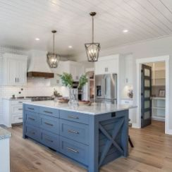 77 Best Farmhouse Kitchen Decor Ideas And Remodel (8)