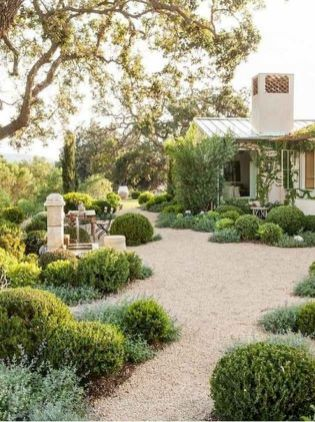 70 Magical Side Yard And Backyard Gravel Garden Design Ideas (11)