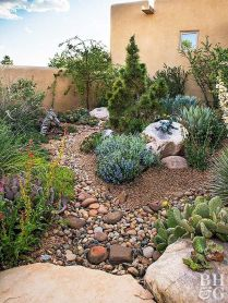 70 Magical Side Yard And Backyard Gravel Garden Design Ideas (39)