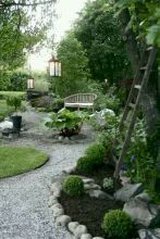 70 Magical Side Yard And Backyard Gravel Garden Design Ideas (46)