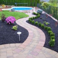 70 Magical Side Yard And Backyard Gravel Garden Design Ideas (57)