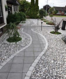 70 Magical Side Yard And Backyard Gravel Garden Design Ideas (6)