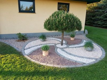 70 Magical Side Yard And Backyard Gravel Garden Design Ideas (9)