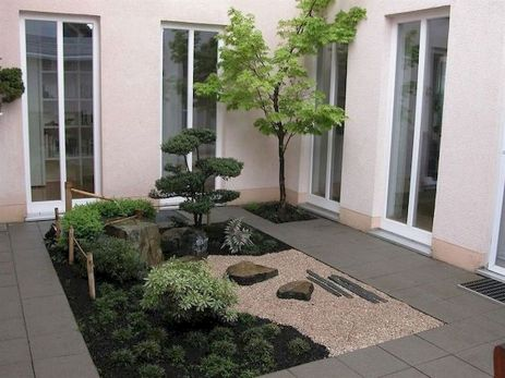 80 Wonderful Side Yard And Backyard Japanese Garden Design Ideas (36)