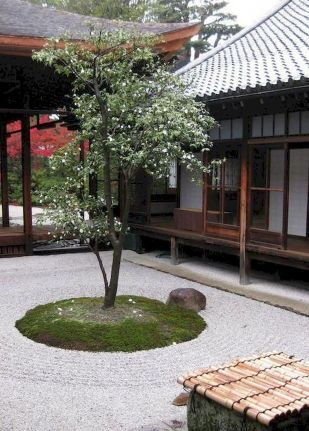 80 Wonderful Side Yard And Backyard Japanese Garden Design Ideas (40)