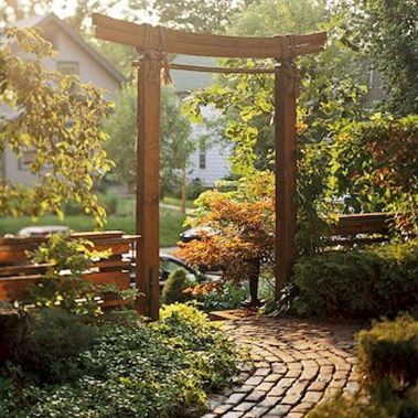 80 Wonderful Side Yard And Backyard Japanese Garden Design Ideas (56)