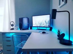 45 Fantastic Computer Gaming Room Decor Ideas and Design (28)