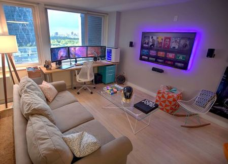 45 Fantastic Computer Gaming Room Decor Ideas and Design (5)