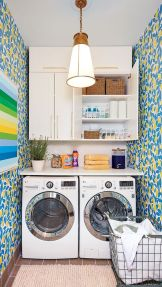 55 Gorgeous Laundry Room Design Ideas and Decorations (47)