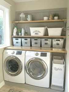 55 Gorgeous Laundry Room Design Ideas and Decorations (6)