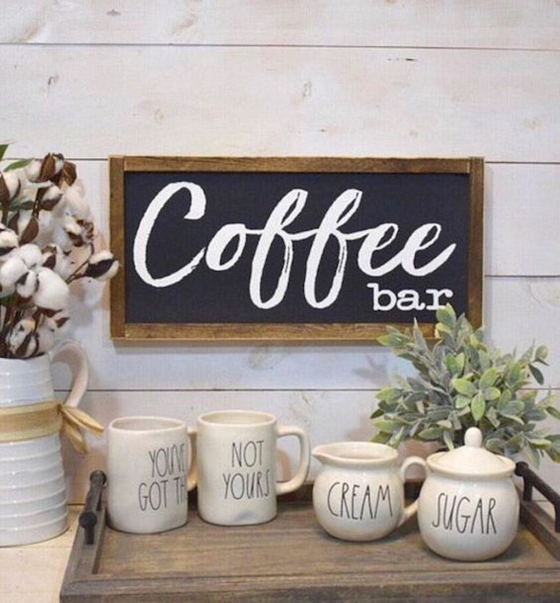 60 Suprising Mini Coffee Bar Ideas for Your Home (37)