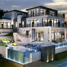 65 Stunning Modern Dream House Exterior Design Ideas (61)