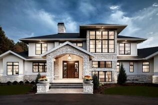 65 Stunning Modern Dream House Exterior Design Ideas (7)