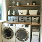 75 Awesome Laundry Room Storage Decor Ideas (13)