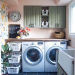 75 Awesome Laundry Room Storage Decor Ideas (23)
