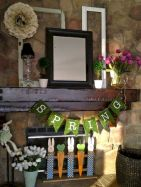 37 Beautiful Easter Fireplace Mantle Ideas (16)