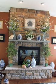 37 Beautiful Easter Fireplace Mantle Ideas (20)