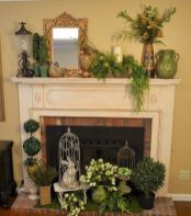 37 Beautiful Easter Fireplace Mantle Ideas (25)