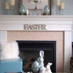 37 Beautiful Easter Fireplace Mantle Ideas (28)