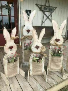 42 Stunning Easter Decorations Ideas (20)