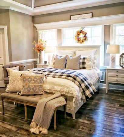 47 Most Popular Bedding for Farmhouse Bedroom Design Ideas and Decor (27)