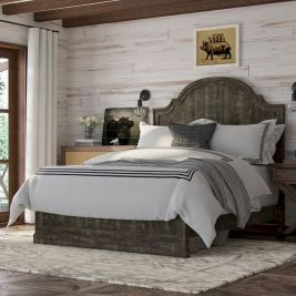 47 Most Popular Bedding for Farmhouse Bedroom Design Ideas and Decor (34)