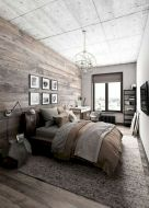 57 Stunning Modern Farmhouse Bedroom Design Ideas and Decor (103)