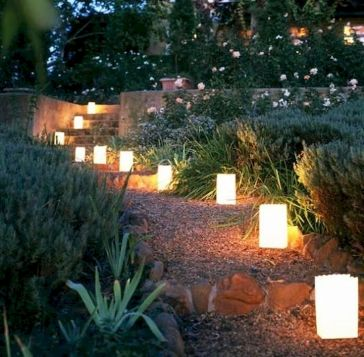 Backyards Garden Lighting Design Ideas (50)