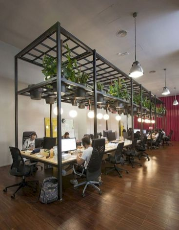 Indoor Garden Office and Office Plants Design Ideas For Summer (12)