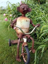 Metal Garden Art Design Ideas For Summer (51)