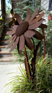 Metal Garden Art Design Ideas For Summer (7)
