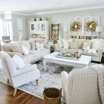 105 Best Farmhouse Living Room Decor Ideas (28)