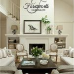 105 Best Farmhouse Living Room Decor Ideas (51)