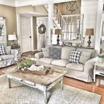 105 Best Farmhouse Living Room Decor Ideas (66)