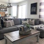 105 Best Farmhouse Living Room Decor Ideas (95)