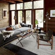 72 Industrial Living Room Decor Ideas (56)