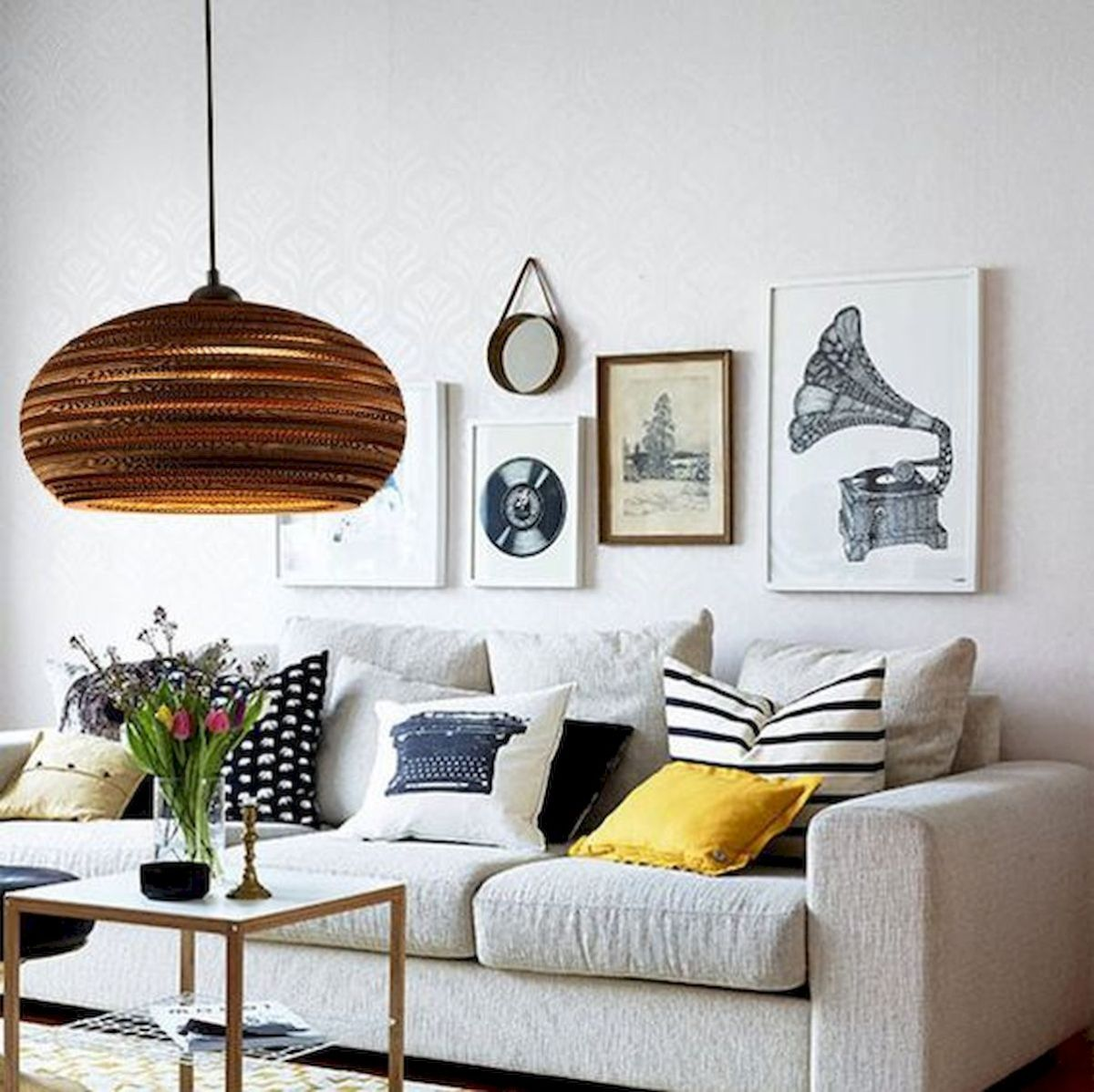 73 Eclectic Living Room Decor Ideas (23)
