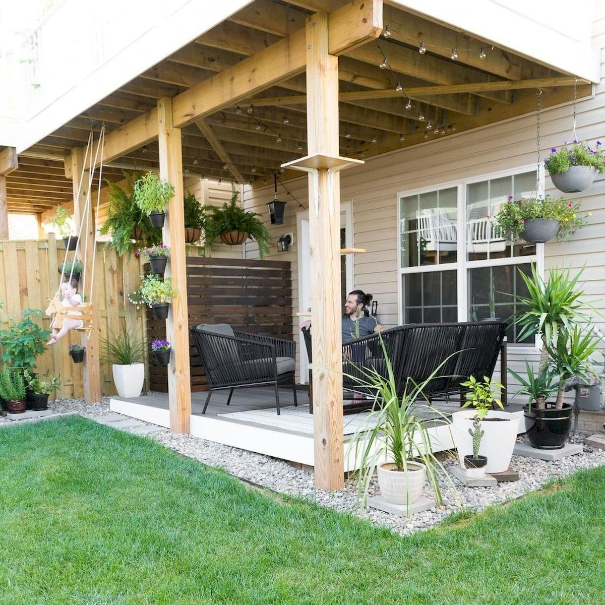 30 Best Small Backyard Patio Ideas (26)