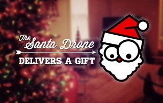 Santa Package Delivery Drone