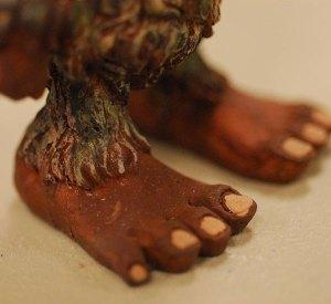 Painting Bigfoot