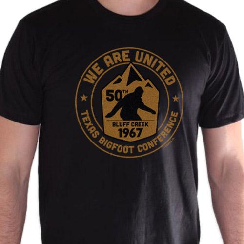 2017 Texas Bigfoot Conference T-shirt