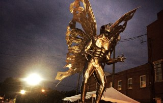 Mothman Festival Sightings