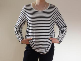 goomo.shop_navy and white stripe ortolan