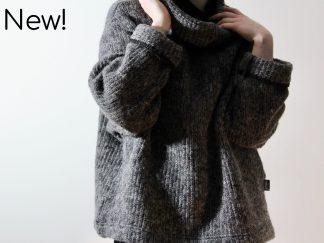 goomo.shop_handmade wool mohair chunky knit jumper