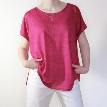 goomo.shop_pure linen cerise extended shoulder tank
