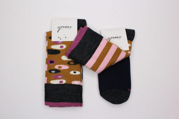 good.shop_Egg Ochre superfine Australian Merino socks