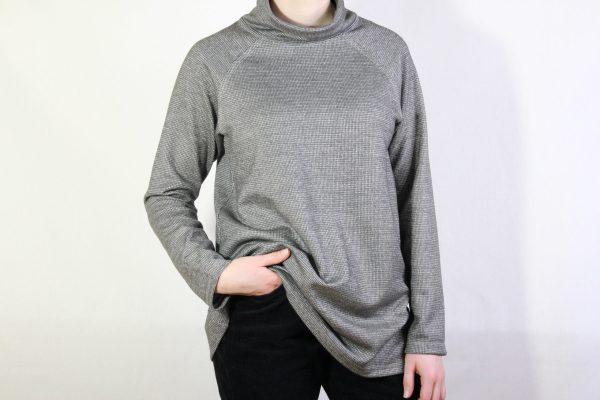 goomo.shop_knit houndstooth top slate
