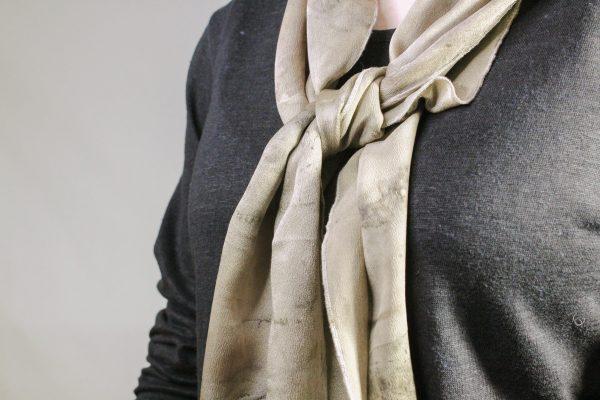goomo.shop_hand dyed pure silk scarf