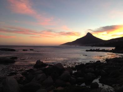 Lions Head at dusk